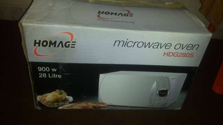 Homage microvave new 0