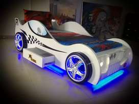 Beautiful car bed for kids