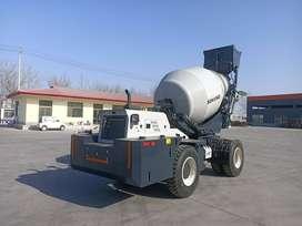 Self Loading concrete mixer kapasitas 5 kubik mesin 3 in 1 efisien