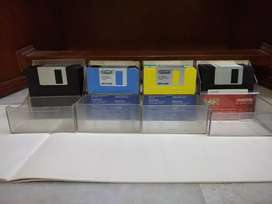 46 Floppy disks 2HD