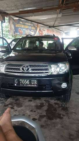 Fortuner 2010 manual diesel istmewa