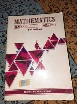 Mathematics RD SHARMA