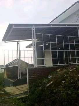 @18 canopy minimalis atap alderon pvc keren banget