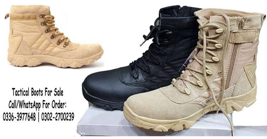 Delta Boots For Trekking and Hiking 0