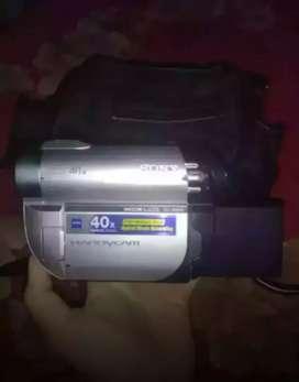DIJUAL CEPAT Kamera Bekas / Handycam Sony DCR DVD610E
