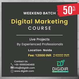 Digital Marketing Course at 12K INR