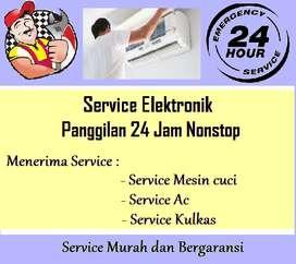 Service Ac Kulkas Mesin cuci (panggilan)