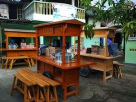 Gerobak Angkringan wedangan kopi jos COD free ongkir Jawa Barat