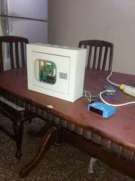 Automatic control panel for walk through tunnel gate mist spray pumps