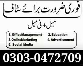 Job Vaccines in Lahore Male,Female, Online Working