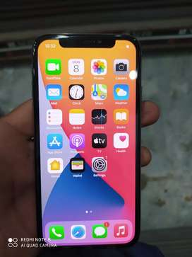 iPhone X 256 GB PTA Approved condition 10/10 complete box charger