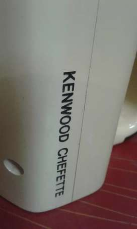 Kenwood food factory     with juicer            10/10