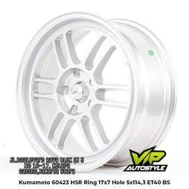 Pelek Racing Murah KUMAMOTO Ring 17x7 Hole 5x114,3 et 40