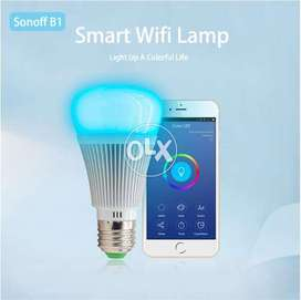 Smart Dimmable LED Lamp RGB Color Light Timer Bulb Remote Turn ON/OFF