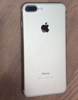 Apple iPhone 7+ 128 GB gold at good rate.