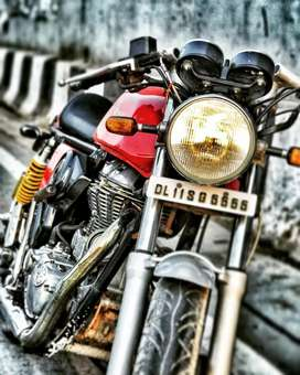 Royal Enfield Gt  Continental 535, VIP NUMBER-5555