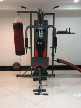 Alat fitness home gym 3 sisi with sandsack baru