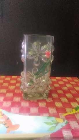 Vas Bunga Kaca Unik