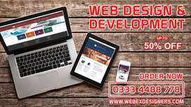 Complete web design and development in just 5000