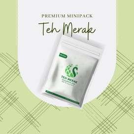 Teh Hijau - Teh Hijau Asli - Teh Diet - Minipack Teh Merak