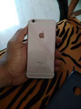 iPhone 6s color rose gold excellent condition