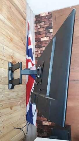 pasang bracket swivel buat gantungan tv led lcd tempel di dinding