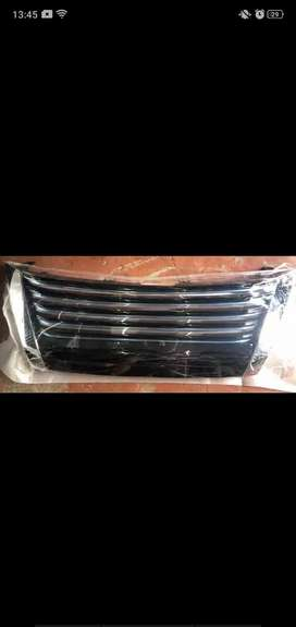 New fortuner front grill lexus style