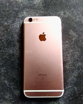 Iphone 6s Gold rose