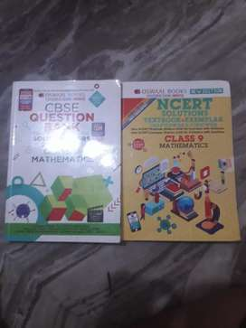 Oswaal books class 9 question bank and class 9 oswaal guide -Maths