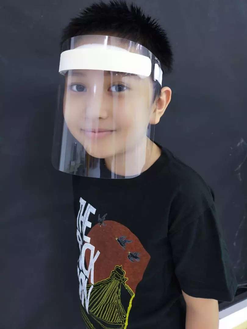 FACE SHIELD ANAK Pelindung Muka Wajah Aman Nyaman Ringan