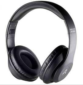 Adcom Shuffle Over-Ear Bluetooth Wireless Headphones With Mic