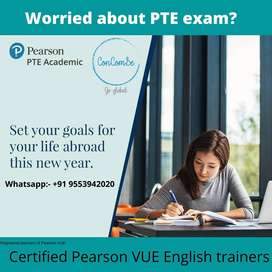 PTE-Academic, Pearson VUE certified English Trainer