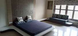 3bhk  new construction furnished Bungalow on rent sanand
