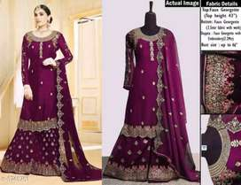 Georgette suits dress materials