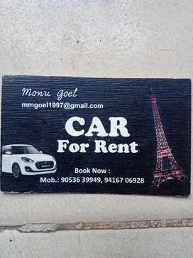 Monu travels providing taxi/cabs