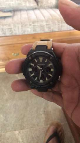 Casio g shock two days used solar And battery