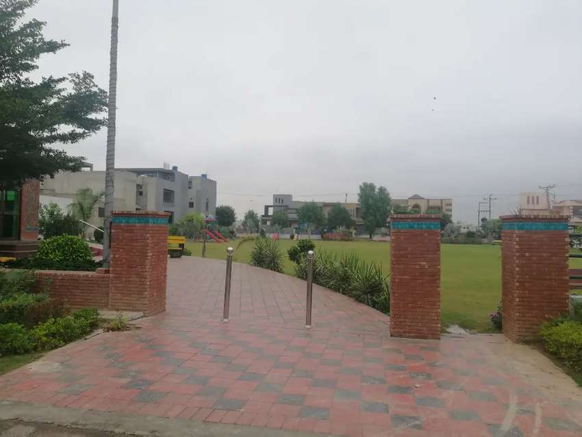4.5 Marla Commercial plot for urgent sale in Canal Gardens Lahore.