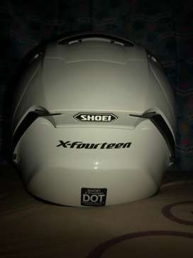 Original shoei free visor iridium