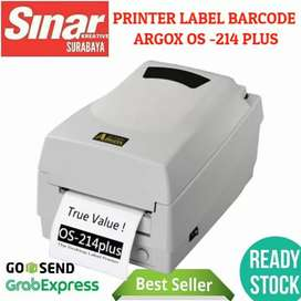 PRINTER BARCODE LABEL STICKER ARGOX OS-214 PLUS