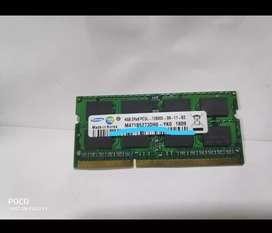 LAPTOP RAM DDR3 4GB (4 nos)
