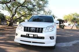 Toyota PRADO TX LIMITED AT Putih 2010