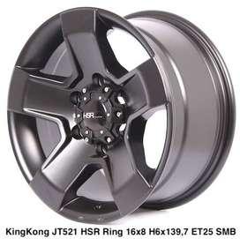 Toko pelek KINGKONG JT521 HSR R16X8 H6X139,7 ET25 SMB