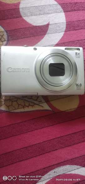 Cannon Digital camera with zoom untouched in very good condition