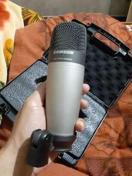 Samson c01 best to best for recording