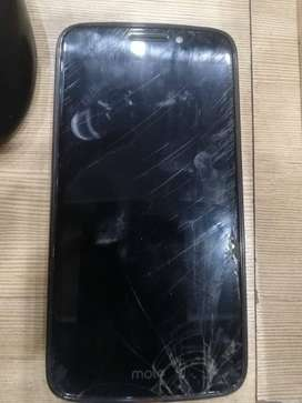 Moto E4 2/16 PTA Approved glass cracked
