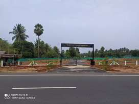 Dtcp approved No. (116/2020) plots on pollachi-Nadupuni highway