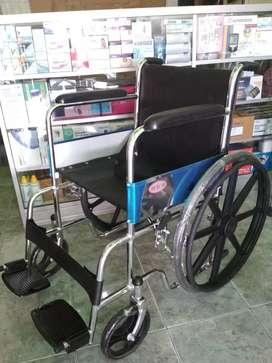 Kursi roda velg racing crome hitam