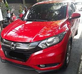 Dijual mobil Honda HR-V tahun 2015 s-cvt merah
