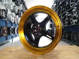 velg mobil racing ring 17 celong HSR AVALON H8X100/114,3