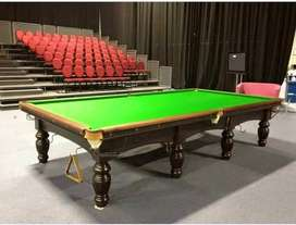 Italian snooker table with all new accessories in